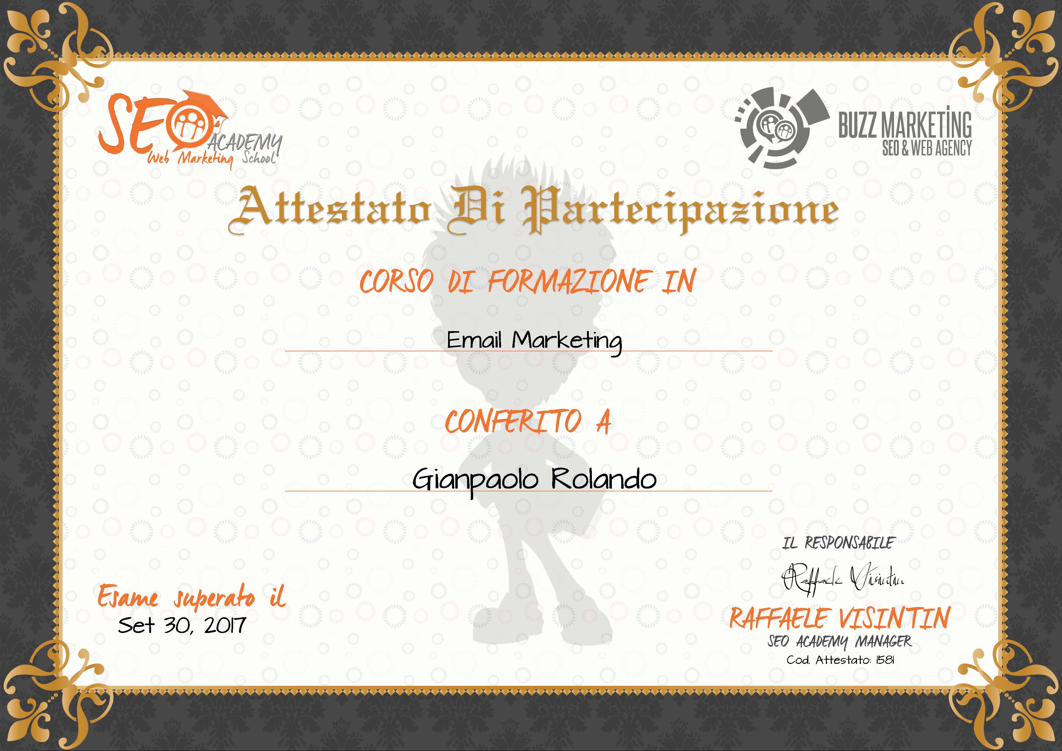 Gianpaolo Rolando Email Marketing